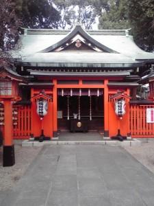 馬橋稲荷神社本殿